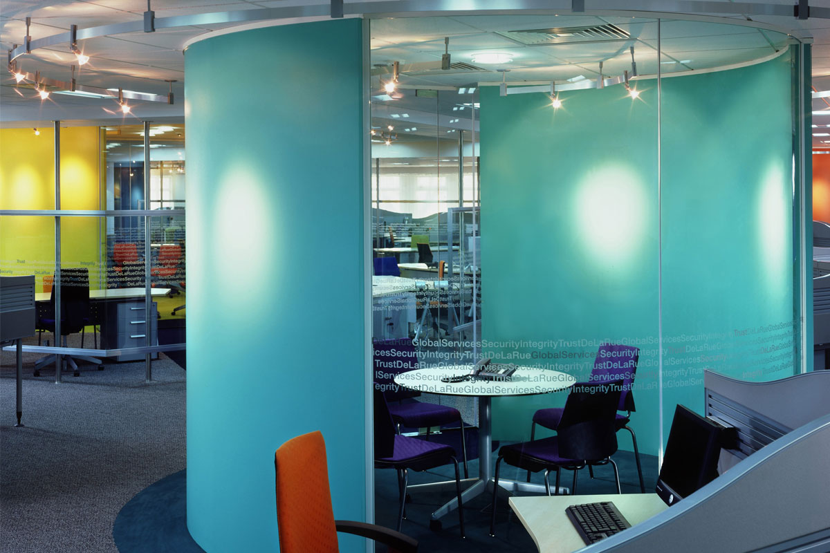 Single Glazed Frameless Glass Wall Partition Gallery 1