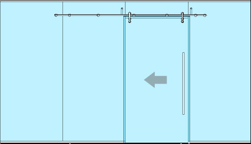 Single Elevation – Integrated with Solare Single Glazed