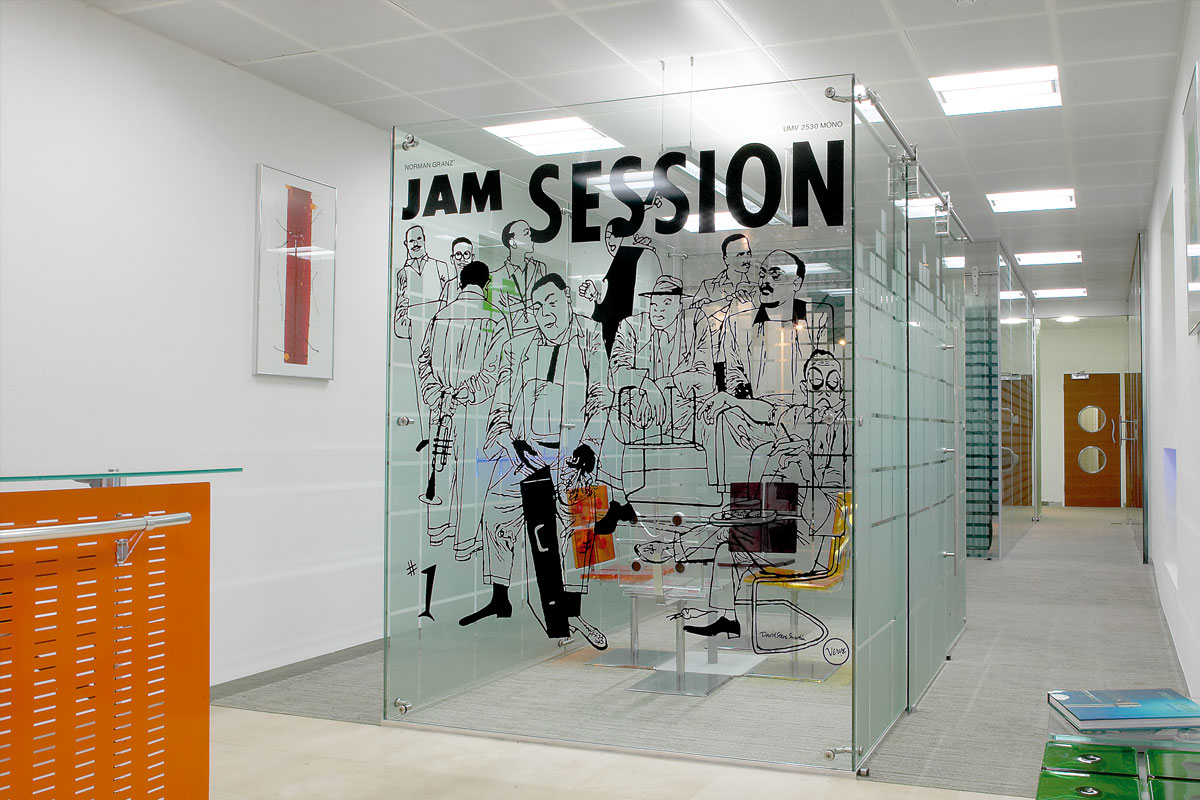 Freestanding Glass Partition Systems