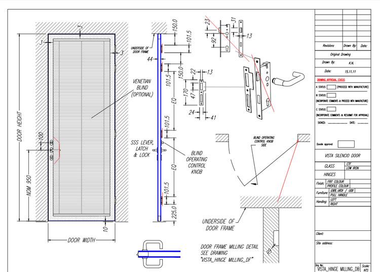 ID Acoustic Door Rapid Prototyping