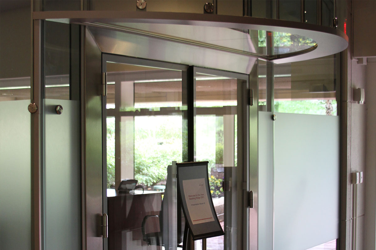Acoustic Double Glazed Glass Door Gallery 2