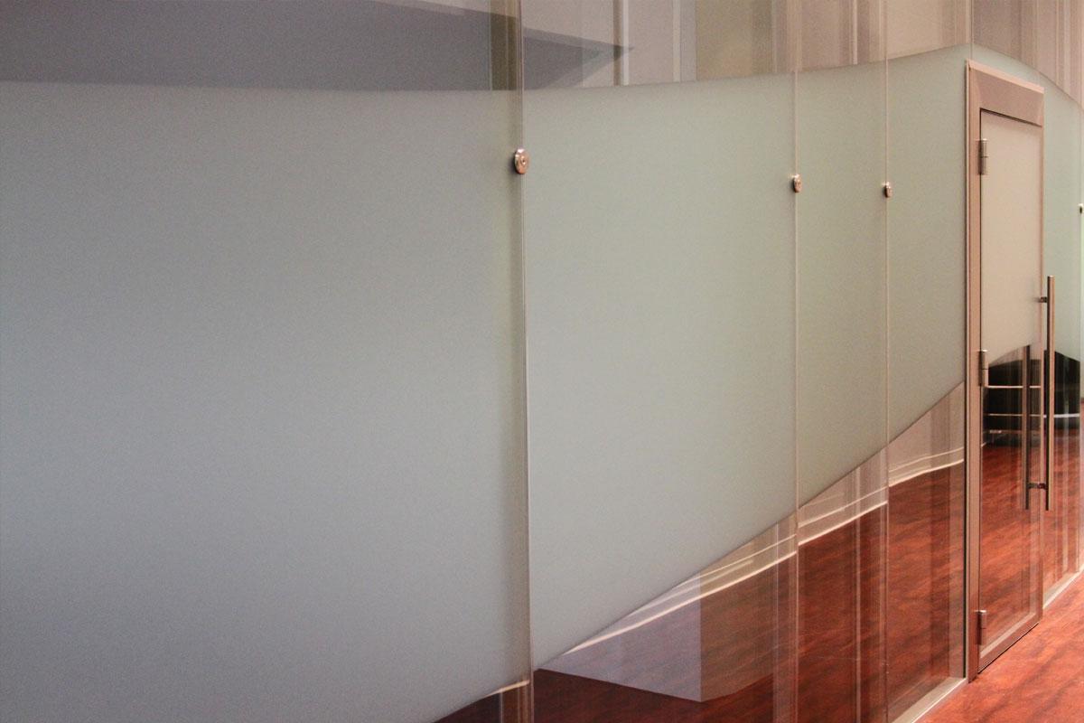 Acoustic Double Glazed Glass Door Gallery 2
