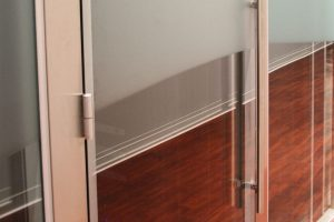 Acoustic Double Glazed Glass Door Gallery 6