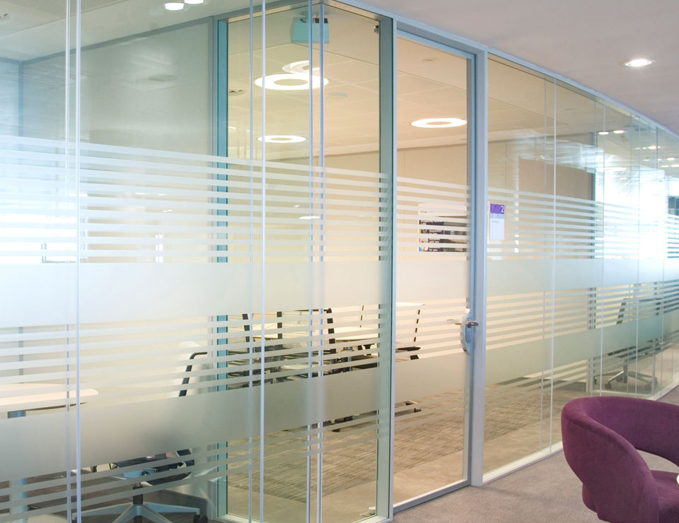 Solare Double Glazed Pivot Glass Door