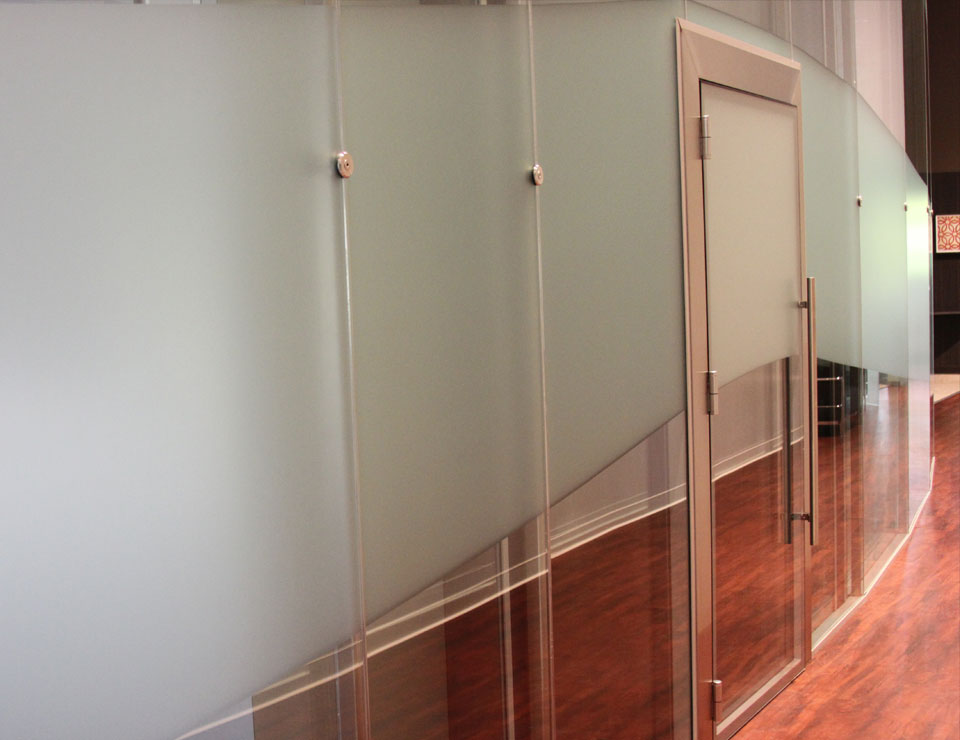 Acoustic Double Glazed Sound Resistant Glass Doors