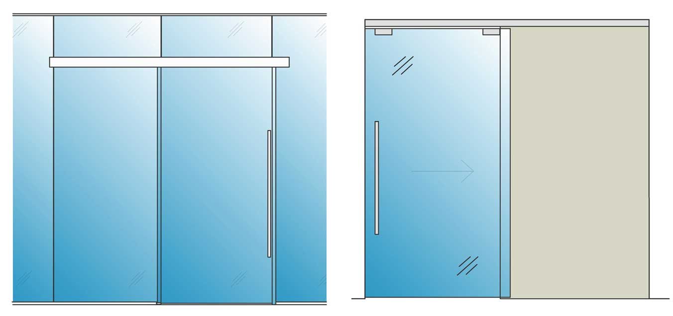 Self Closing Glass Office Doors Avanti Systems Usa