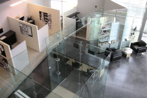 Freestanding Glass Wall Partition Gallery 2