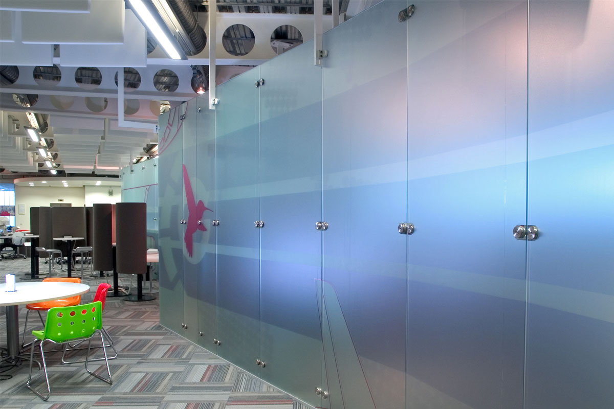 Freestanding Glass Wall Partition Gallery 3
