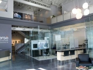 Freestanding Glass Wall Partition Gallery 9