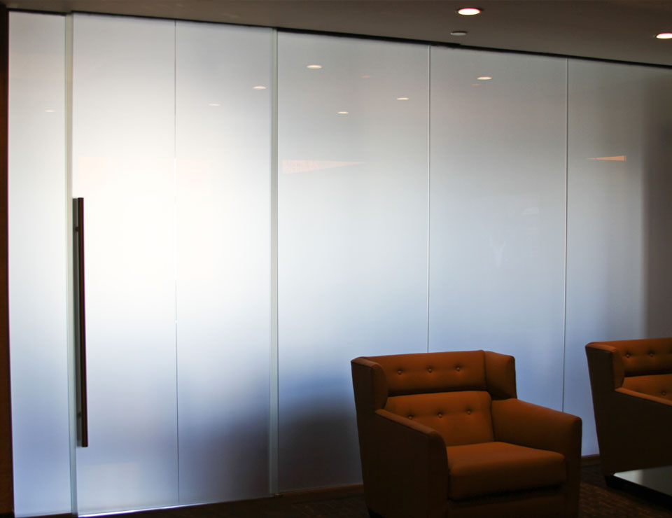LCD Privacy Smart Glass Wall Partition Slider 3