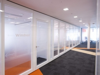 Movare Double Glazed Movable Glass Partition Gallery 2