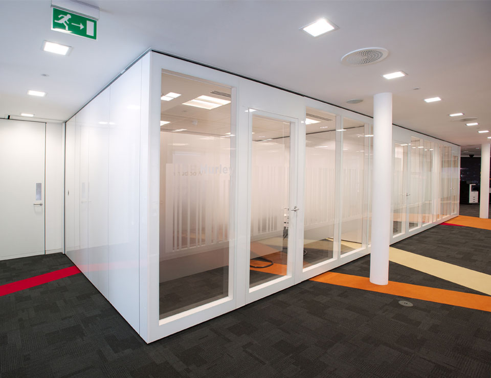 Movare Movable & Folding Double Glazed Glass Partition Systems
