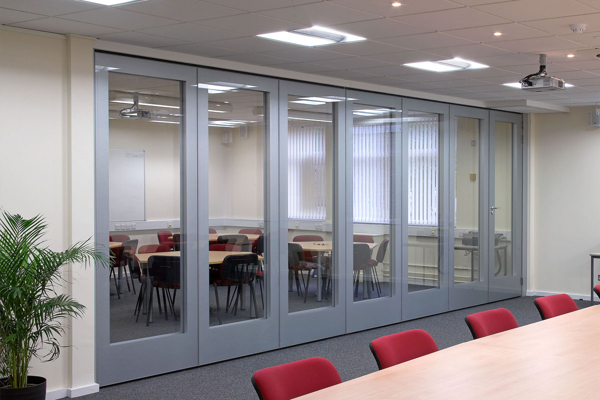 Movare Double Glazed Movable Glass Partition Gallery 9