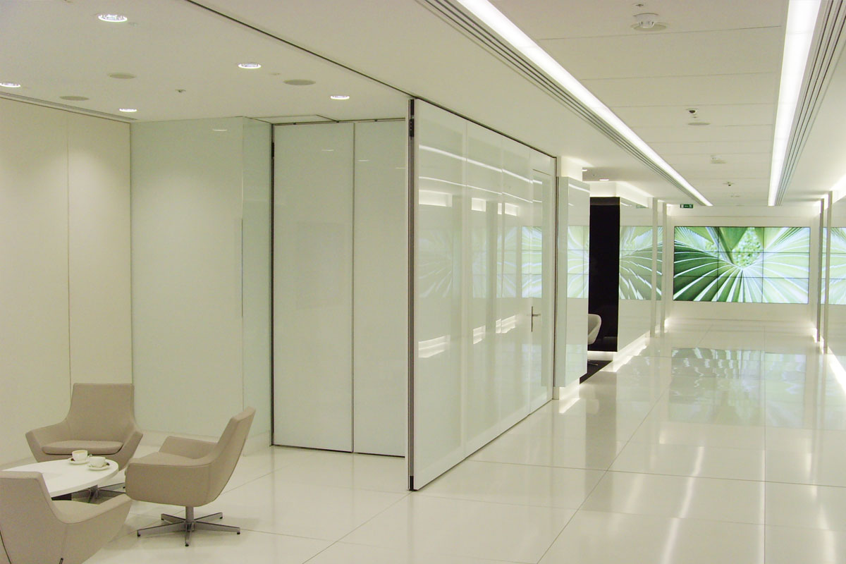 Movare Double Glazed Movable Glass Partition Gallery 7