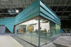 Movare Single Glazed Movable & Foldable Glass Partition Gallery 1