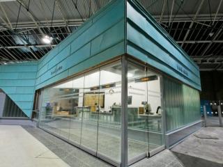 Movare Single Glazed Movable & Foldable Glass Partition Gallery 1