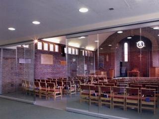 Movare Single Glazed Movable & Foldable Glass Partition Gallery 9