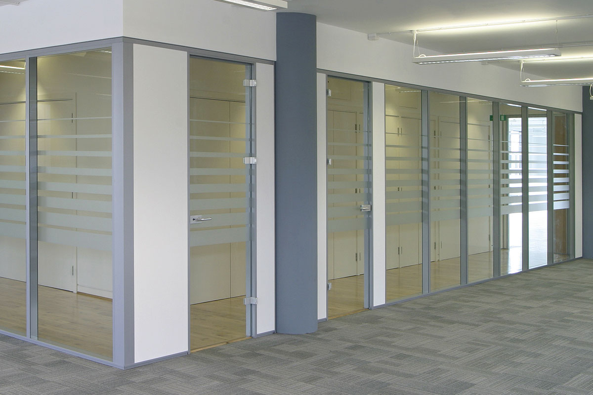 Adaptable Modular Glass Walls Avanti Systems Usa