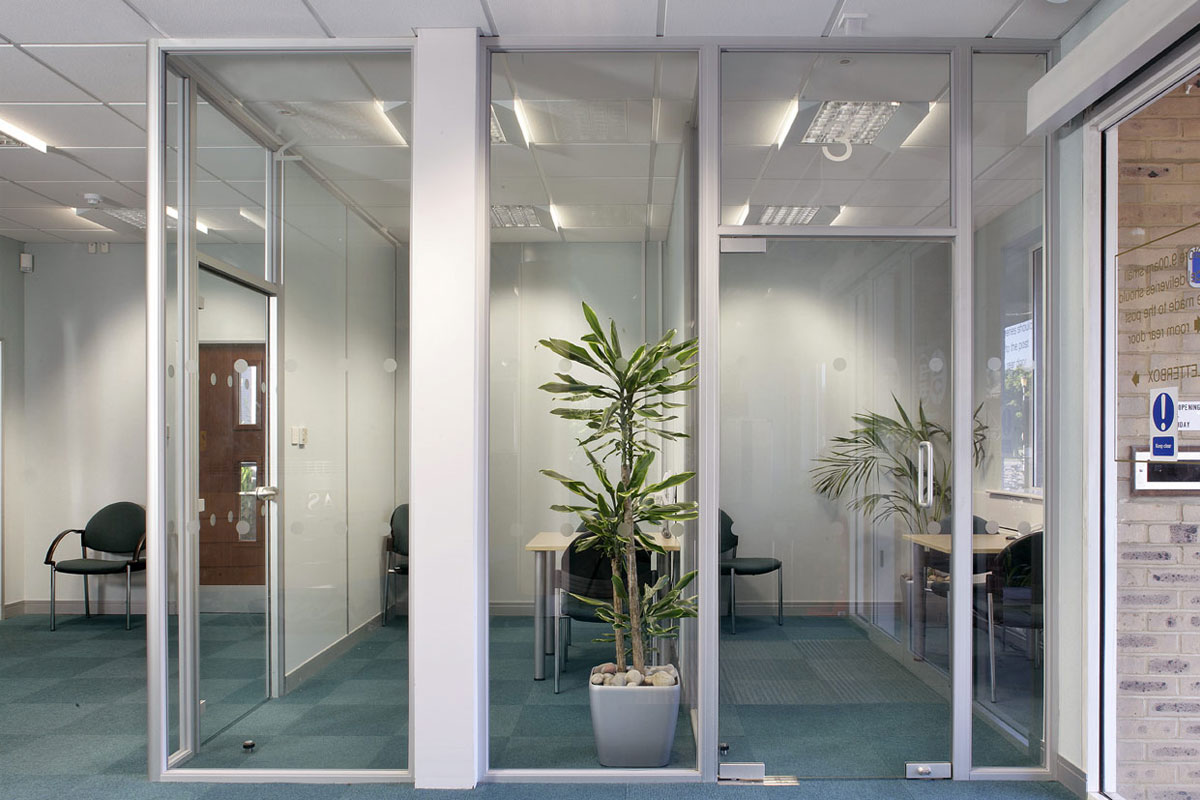 Single Glazed Glass Herculite Doors Avanti Systems Usa