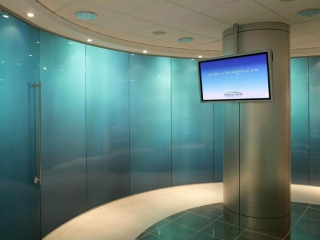 Pivot Frameless Swing Door Gallery 5