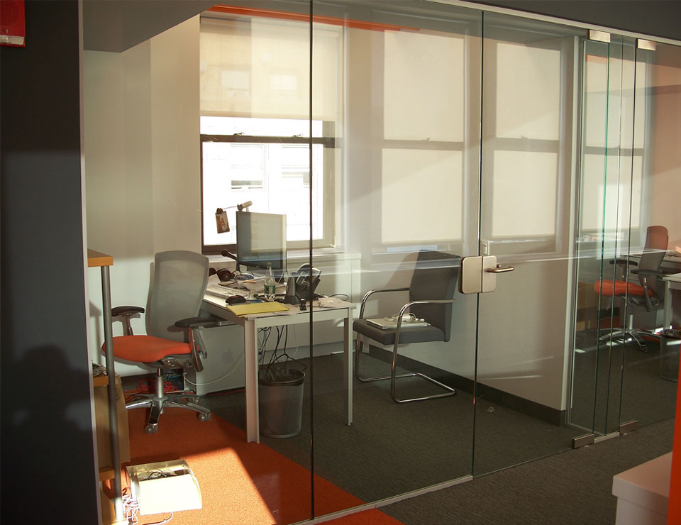 Pivot Hinged Glass Office Doors Avanti Systems USA