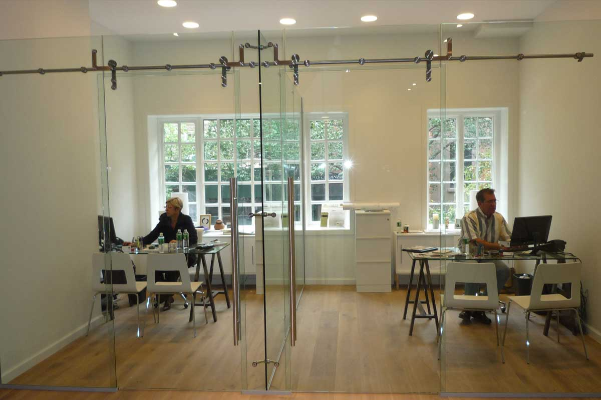 Sliding Glass Barn Doors Gallery 9
