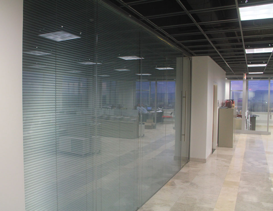 Solare Double Glazed Frameless Partition System