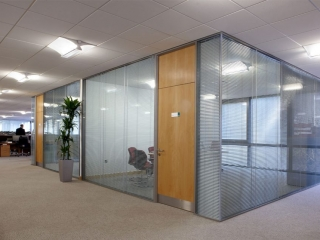 Acoustic Frameless Glass Wall Partition System Gallery 12
