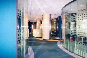 Acoustic Frameless Glass Wall Partition System Gallery 6