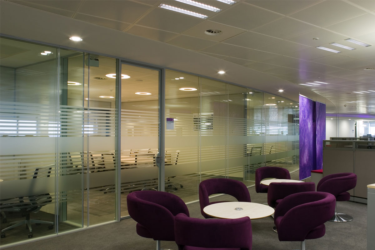 Acoustic Frameless Glass Wall Partition System Gallery 3