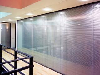 Acoustic Frameless Glass Wall Partition System Gallery 8