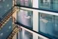 Atrium Glass Wall Gallery