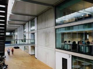 Atrium Glass Wall Gallery 1