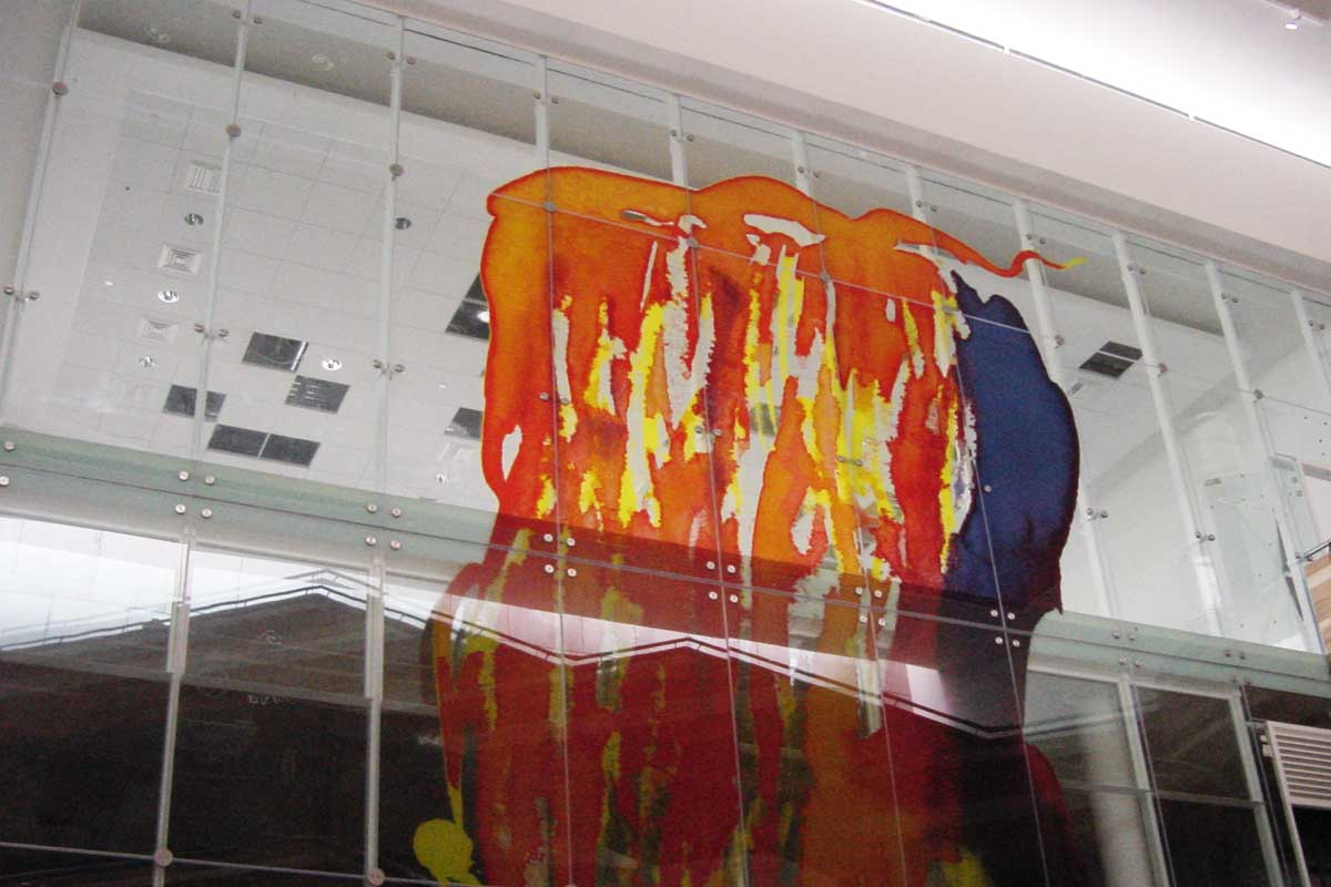 Atrium Glass Wall Gallery 6