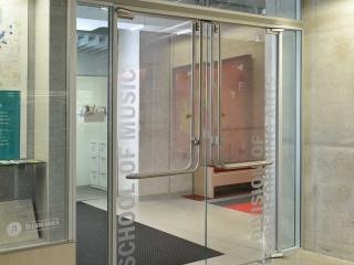 Glass Panic Door Gallery 2