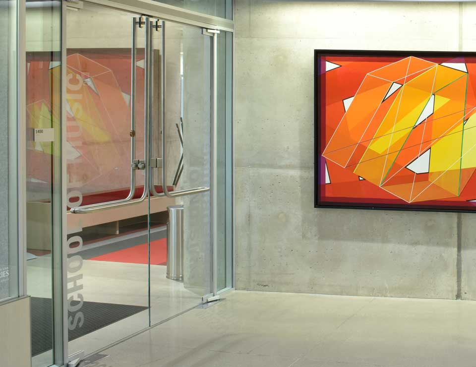 Glass Panic Door Gallery 1