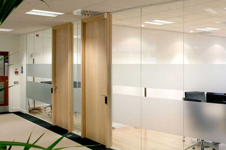 Timber Doors. Glass Office Divider & Glass Office Dividers u0026 Walls | Avanti Systems USA