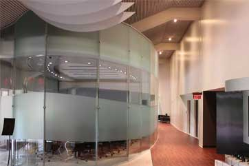 Commercial Interior Glass Walls