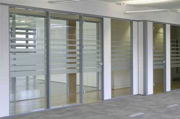 Glass Wall For Office Interior