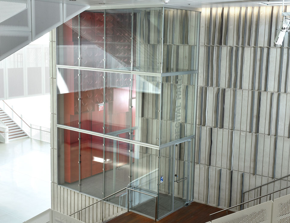 Stacking Double Glazed Glass Partition