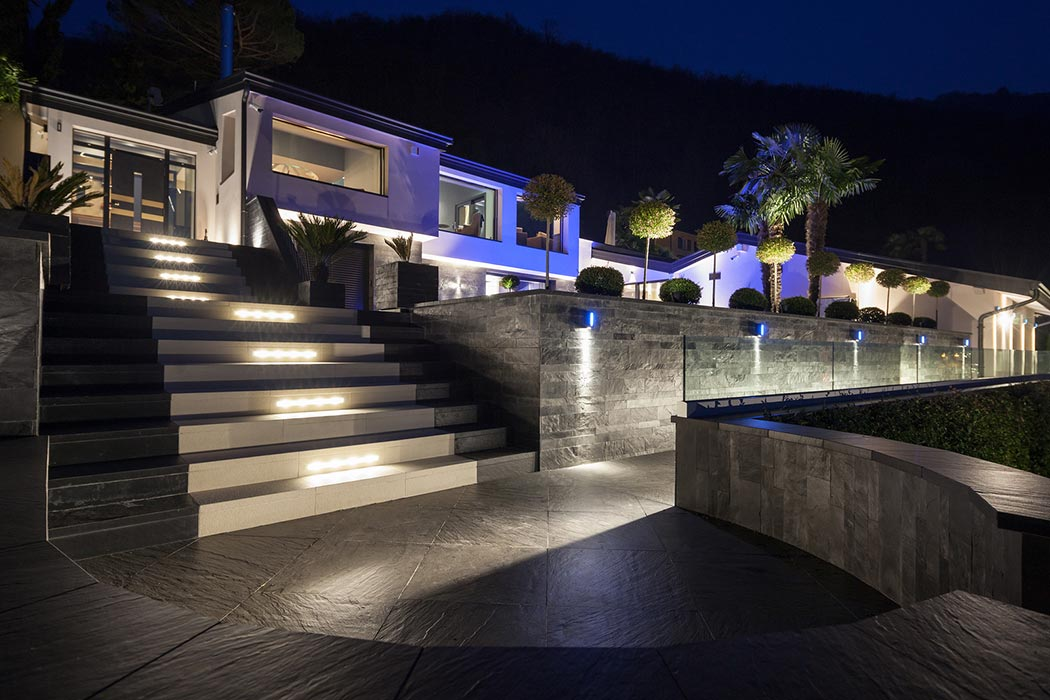 Exterior of Luxurious Modern Architectural Design