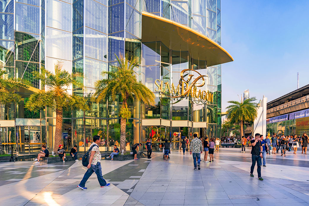 famous luxury shopping mall