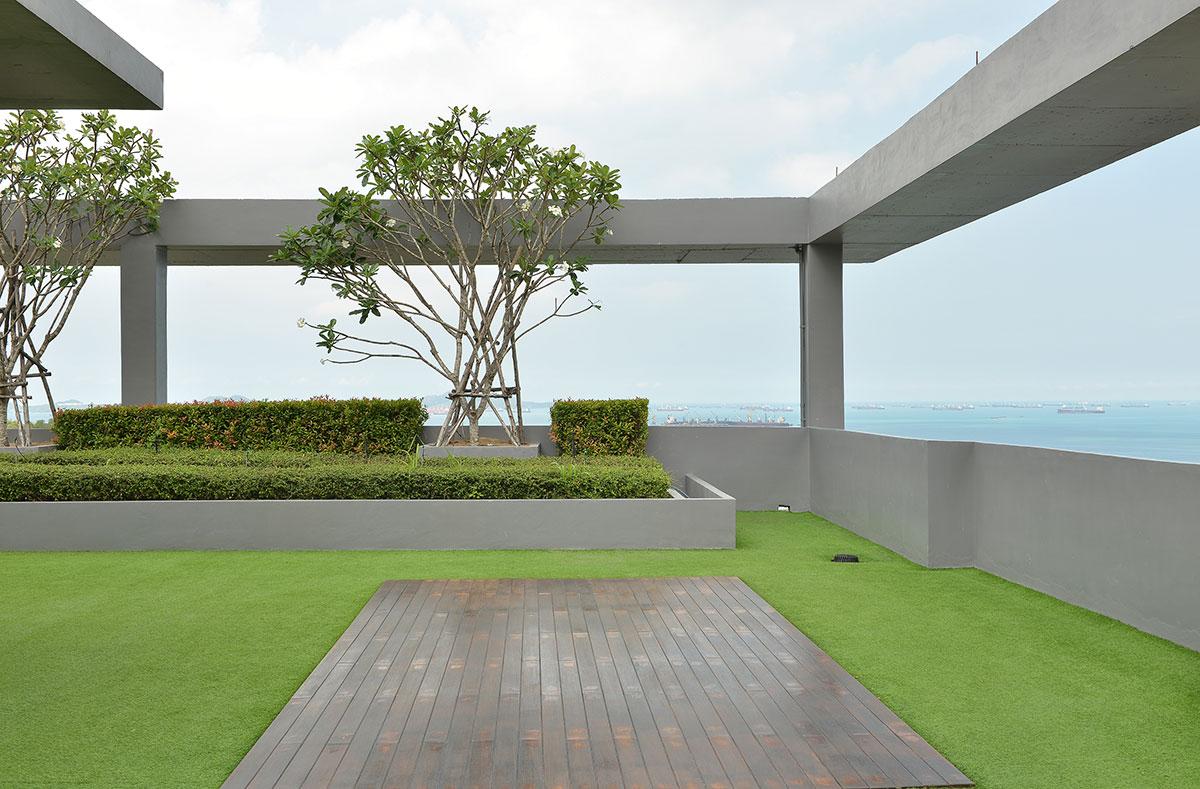 Sky Garden On Rooftop