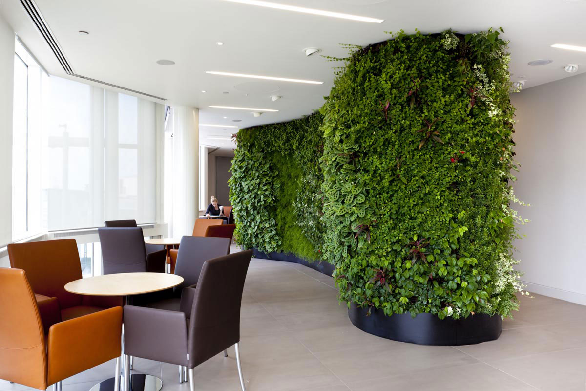 Office Modular Wall Systems - Greener Work Environment
