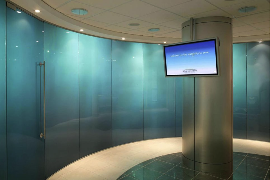 Transformation From Transparent to Translucent - Privacy Glass Switchable