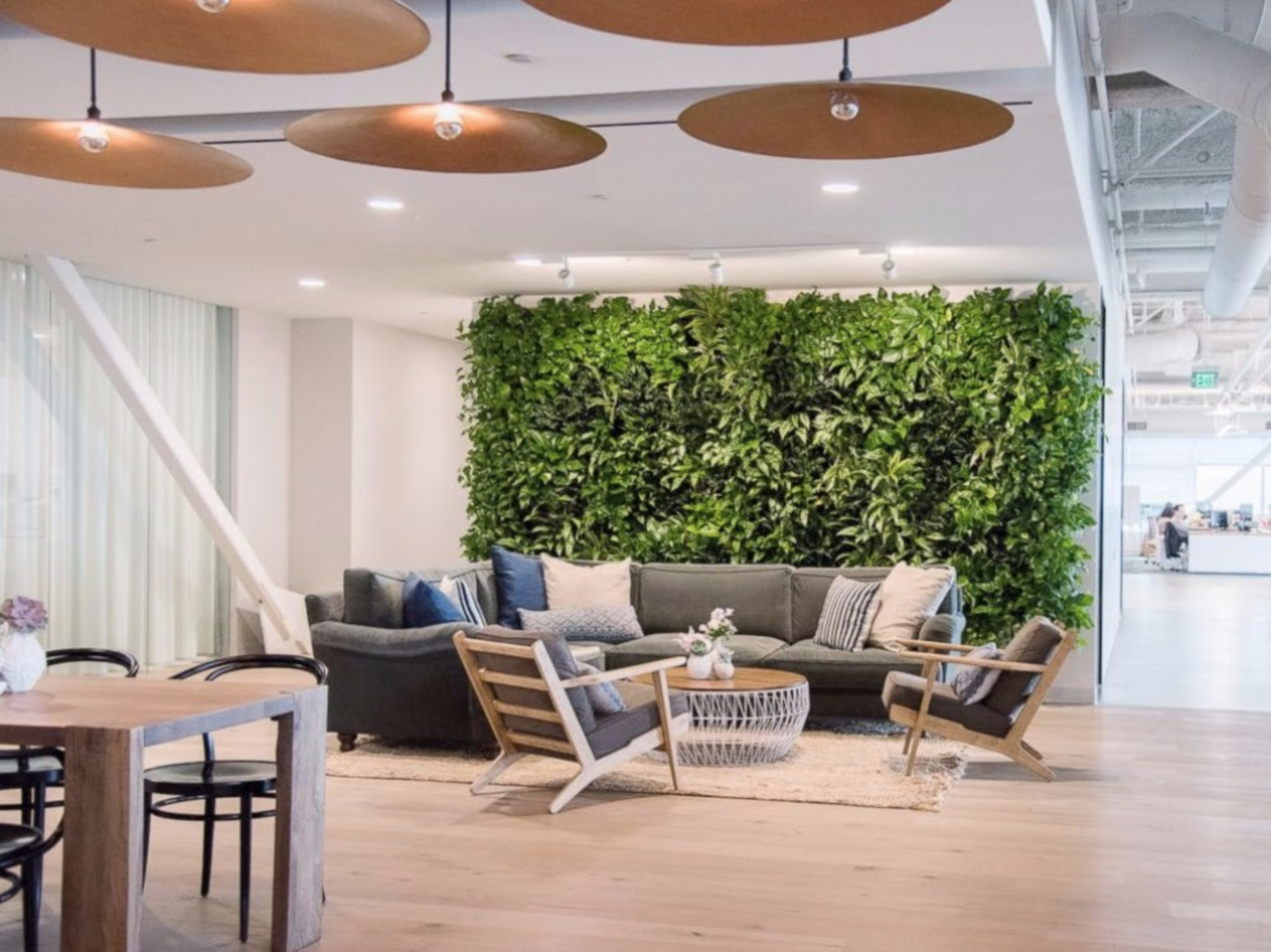 Include greenery - office design inspiration