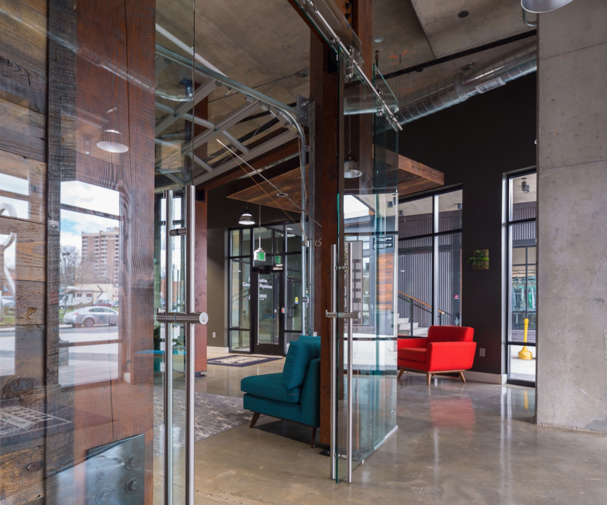 Make use of large spaces - creative office design inspiration