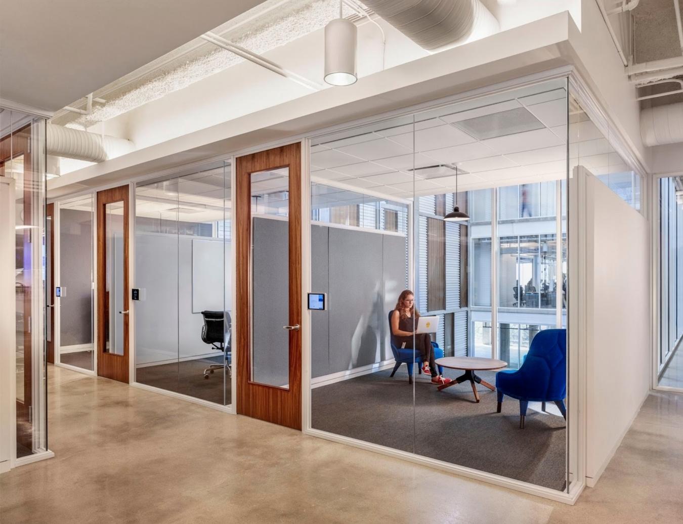 Blend materials - creative office design inspiration