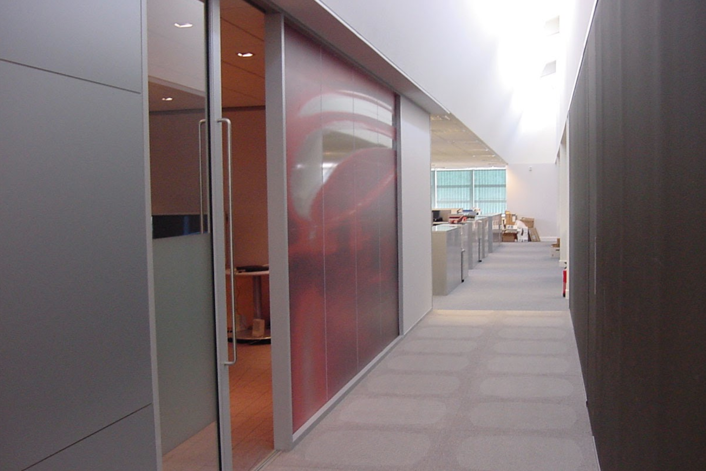 Assisted close sliding glass doors