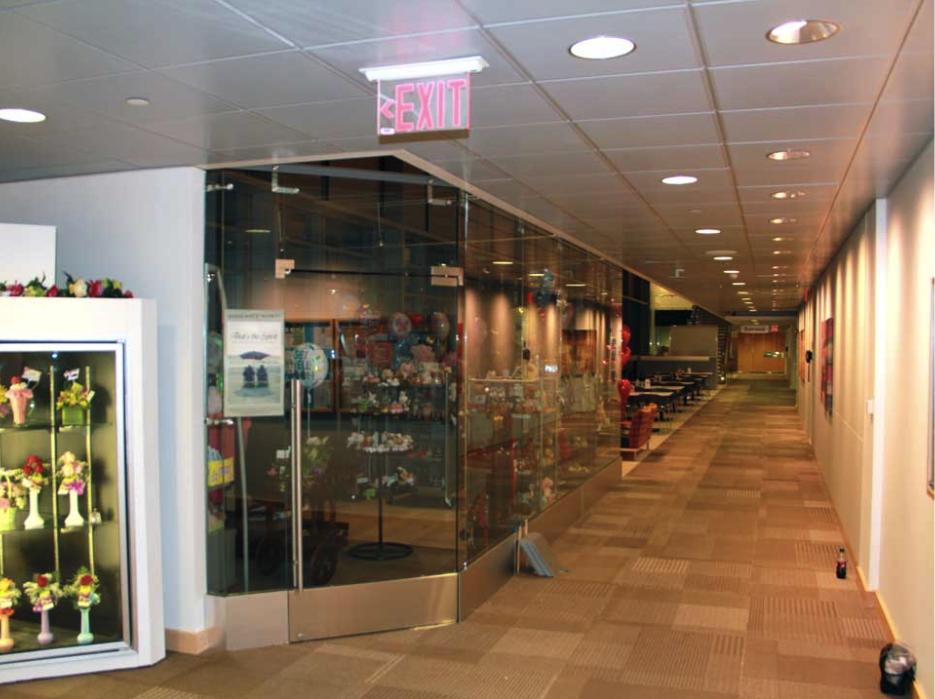 Glass Storefront Entrance Doors
